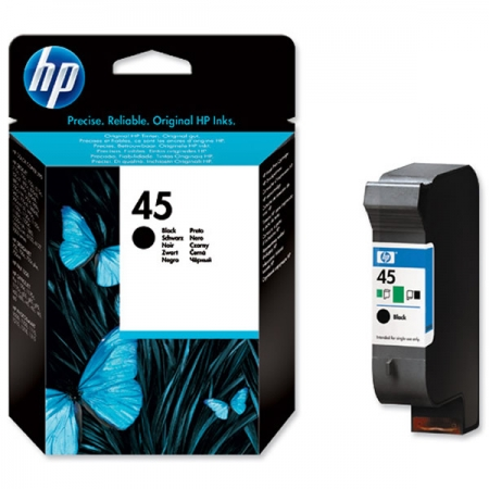 Mực In Hp 45 Black Inkjet Print Cartridge 5165a